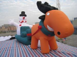China Inflatable christmas / halloween / inflatable festival decoration / inflatable santa deer on sale