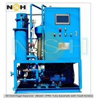 SINO-NSH Centrifugal oil purifier, Fully touch screen with PLC auto control, mobile type with various colors