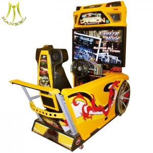 China Hansel 42 LCD Car Racing Simulator Game Machine coin operated game machines for sale on sale