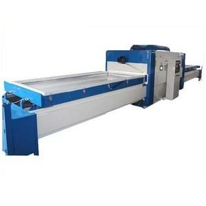 China Cnc Laminating Vacuum Membrane Press Machine 1325 Size Double Table Blue on sale