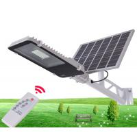 10W 30W 50W Outdoor IP65 Integrated Solar Powered Parking Lot Lights With Remote Control