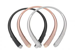 China Noise Cancelling In Ear Neckband Headphones For Iphone / Android Cellphones on sale