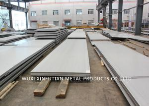 China Hairline Finish Hot Rolled Stainless Steel Sheet 430 With PE Film Cover on sale
