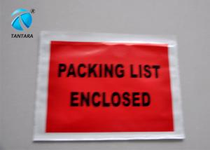China Peal and Seal Packing List  envelope enclosed , Poly Mailing Bags on sale