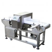 Auto Conveying Metal Detector Food Safety For Package Line , 300*150mm Tunnel Size