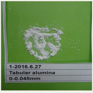 China High quality sintered Tabular alumina fines 200#--0 for ceramic material on sale