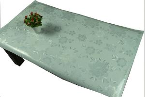 China Oil Proof EVA Crystal Embossing Table Cloth on sale