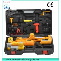 auto emergency tools electric jack with inflating pump and tow rope