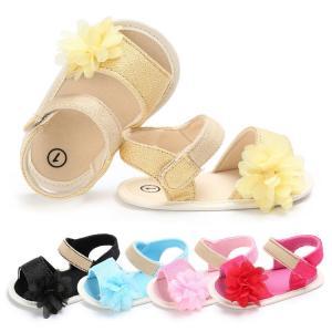 China 2019 New style infant Sandals Sakura Flower Japanese style Toddler Slipper baby shoes for Girl on sale