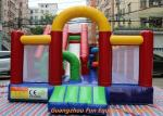 China Water Proof and Fire Resistance Plato PVC Tarpaulin Inflatable Bouncy Castle wholesale