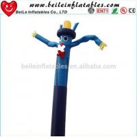 Blue omber dress funny ties inflatable sky dancer