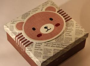 China Unique, wholesale and good design gift box for delivery on sale