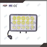 China LED Headlight assembly Square auto work light headlamp with 45w leds on sale