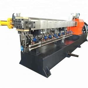 China Recycled PA Plastic Granules Making Machine With 300-500kg/H Capacity on sale