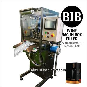 China Semi-automatic Boxed Wine Cocktail Packaging Equipment Bag in Box Filling Machine on sale