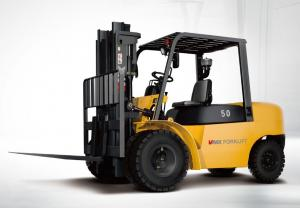 China Internal Combustion Counterbalance Forklift Truck 8 ton Diesel Engine Power on sale