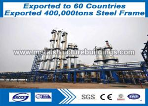 China Precision Prefab Steel Frame Formed Buildings Light Duty At Bangui Area on sale