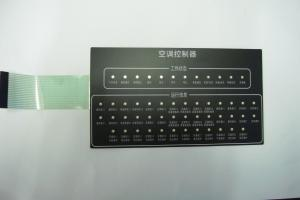 China Custom PET PC 100mA 3M 468MP Membrane Keyboard with Solder Pins connectors Available on sale