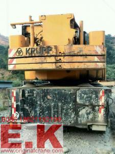 China 80 TON KRUPP AT CRANE hydraulic mobile crane truck jib crane boom crane (KMK4080) on sale