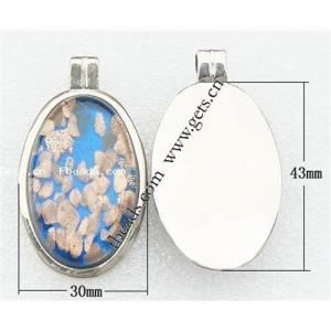 China Glass jewelry pendant on sale