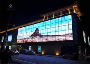 Quality Advertising board Outdoor Full Color LED Display P10 320*160mm panel Made in for sale