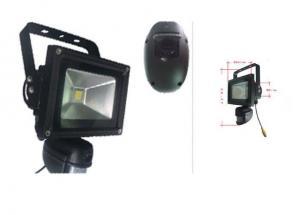 China Battery Powered  PIR Wifi Parking Camera 10 Wattage Light , Rotatable Camera on sale