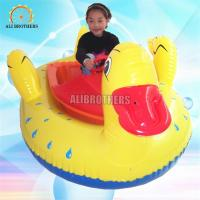 Safety Water Bumper Boats , Inflatable Motorized Bumper Boat For Adults