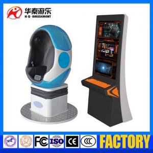 China factory supplier 360 Degree 1 seat egg VR Cinema Simulator 9D VR Virtual Reality equipment experience on sale