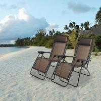 Outdoor folding lounger chairs Portable beach sun lounger chair folding beach sun lounger recliner zero gravity chair