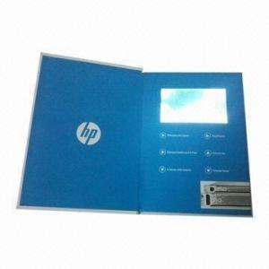 China 256MB - 8GB Memory Wedding Invitation Video Card With CMYK Printing on sale