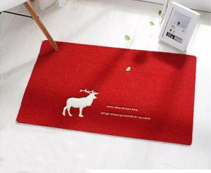 China New High Quality Machine Made Door Mat Custom Eco-Friendly Floor Mat With  PVC Backing on sale