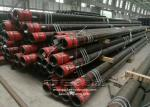 Threaded Seamless Casing Pipe , Seamless Black Steel Pipe API 5CT Standard