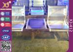 PU の駅のための革アルミ合金の アームレスト の控室の椅子