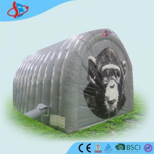 China Channel Inflatable Backpacking Tent / 3 Man Inflatable Tent For Extrior on sale