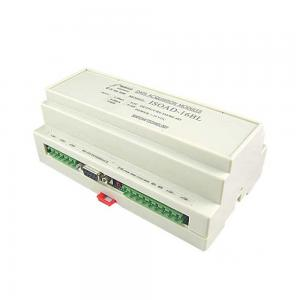 China 16 Channel 4-20mA/0-5V/0-10V/0-20mA to RS232 or RS485 Converter Data Acquisition Module on sale