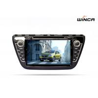 Android 6.0 Car DVD GPS Navigation for SUZUKI CROSS 2014 Audio / Rearview Camera