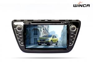 China Android 6.0 Car DVD GPS Navigation for SUZUKI CROSS 2014 Audio / Rearview Camera on sale