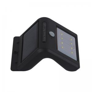 China Solar Power PIR Motion Sensor Wall Light Outdoor Waterproof Energy Saving on sale