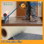 Heavy Duty Car Carpet Protector Film , Sticky Back Plastic Carpet Protector Film