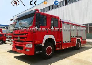 China Brand New HOWO 20cbm Firefighter Truck Sinotruk 4x2 Fire Water Tank Truck on sale