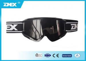 China Black Snow Skiing Goggles PC Lens Protective Ski Eyewear Glasses on sale