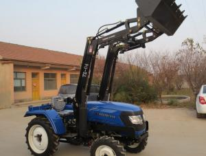 China 40hp 4WD farm tractor mini farm tractor with front end loader on sale