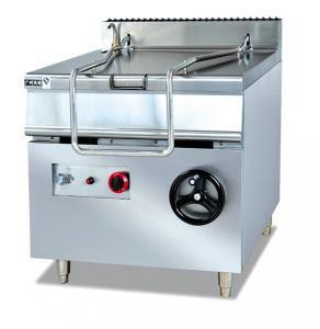 China Restaurant Kitchen Equipment ZH-RS 80L Electric Tilting Pan Sauce Cooking Stove on sale