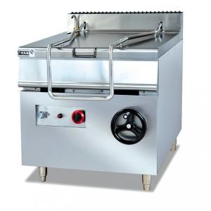 China Equipos comerciales 50HZ, cacerola inclinable eléctrica de la cocina del restaurante de ZH-RS 80L on sale