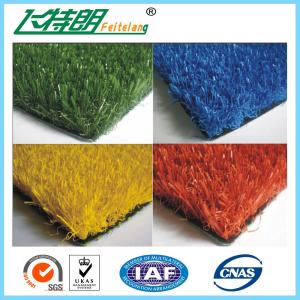 China PP Kindergarten Artificial Grass Roll False Lawn V Shape PE 8 - 10  Years Warranty on sale