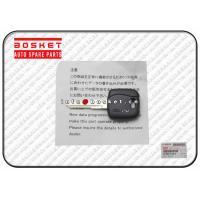China NMR Isuzu Body Parts 8980551680 8-98055168-0 Black Vehicle Key on sale