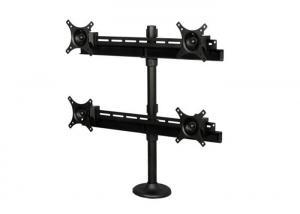 China Multi Screen Monitor Stand Aluminum LCD Monitor Arm Desk Mount DG6-6E4 VESA 100 on sale