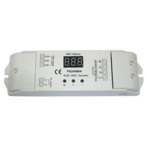 China Constant Voltage Button 18A Constant Voltage LED RGB DMX Decoder on sale