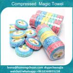 Magic tissue coin towel tablet compressed towel