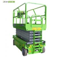 China Hydraulic scissor type 450kg capacity working height 10m electric man lift for sale on sale
